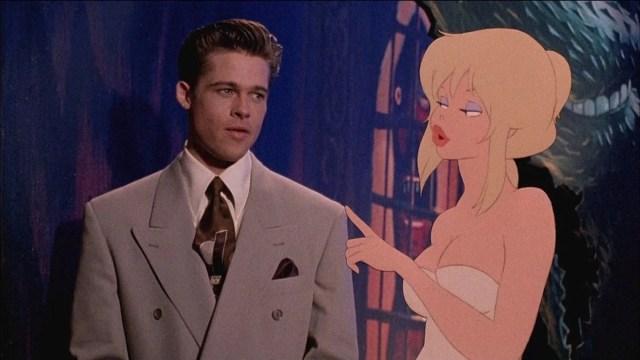 Brad Pitt e Kim Basinger