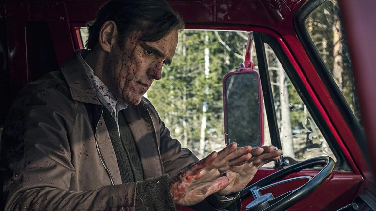 Matt Dillon in The House That Jack Built (2018) killer sangue