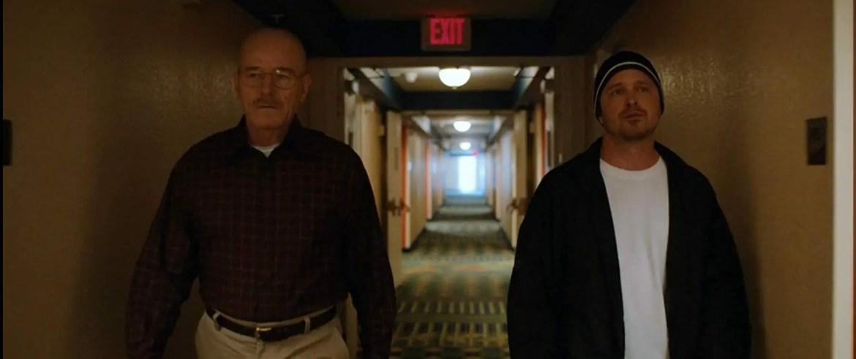 Bryan Cranston and Aaron Paul in El Camino A Breaking Bad Movie (2019)