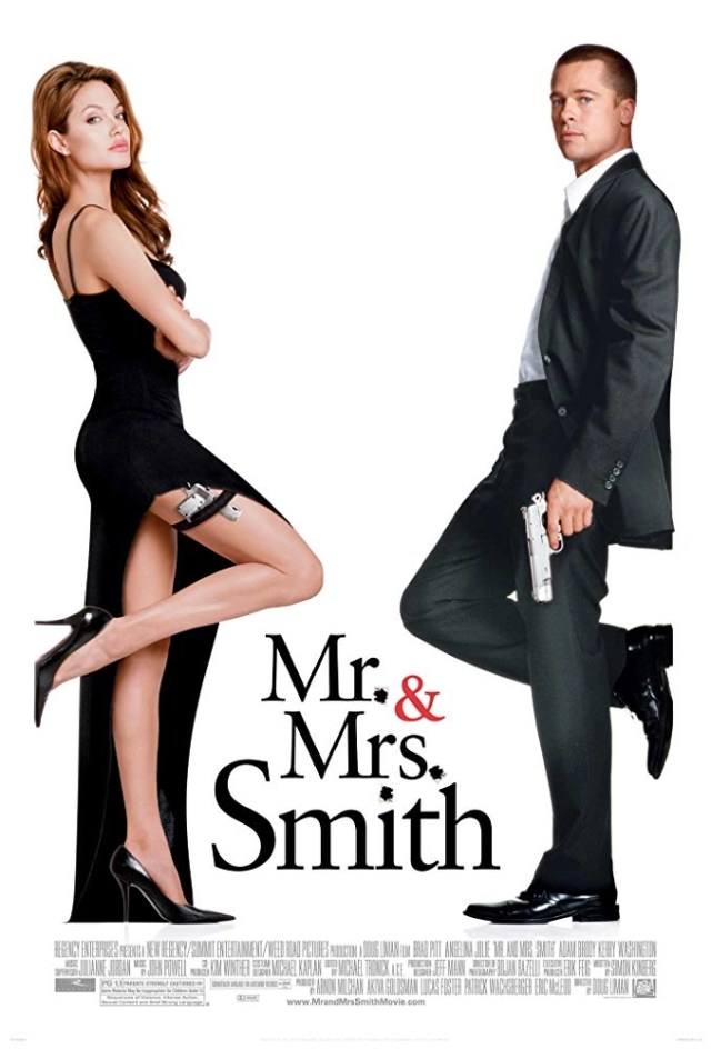 locandina Mr. & Mrs. Smith (2005)