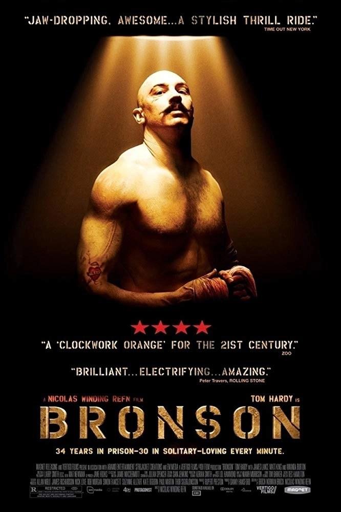 Bronson (2008) locandina recensione