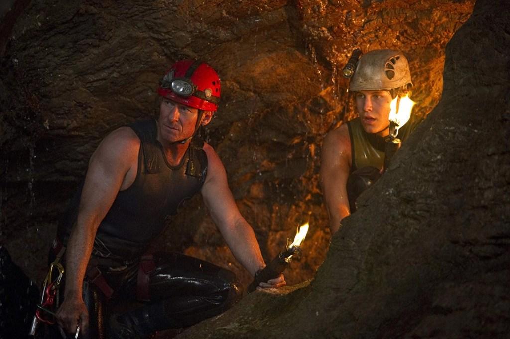 Richard Roxburgh and Rhys Wakefield in Sanctum (2011)