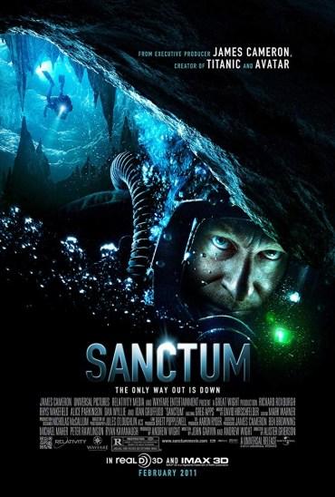 sanctum recensione e locandina