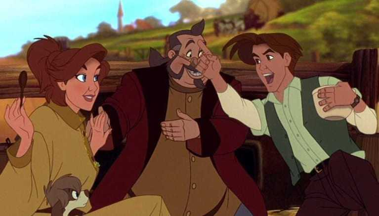 Anastasia, Vlad e Dimitri