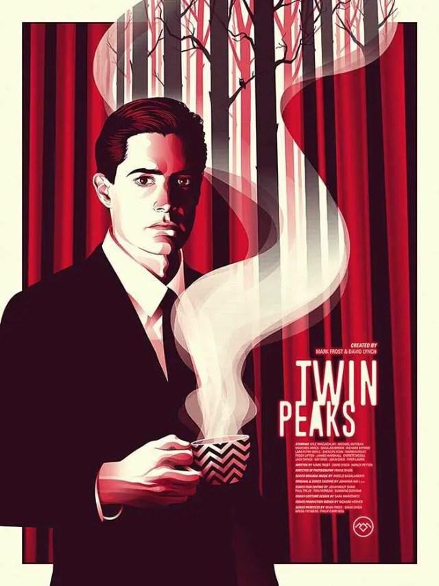 twin peaks cooper poster art