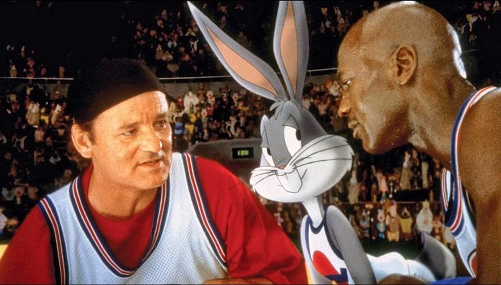 Bill Murray, Michael Jordan e Billy West in Space Jam (1996)