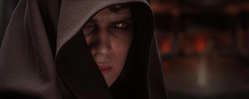 Hayden Christensen nella Vendetta dei Sith