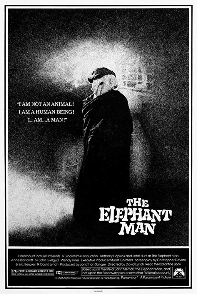 The Elephant Man (1980) locandina