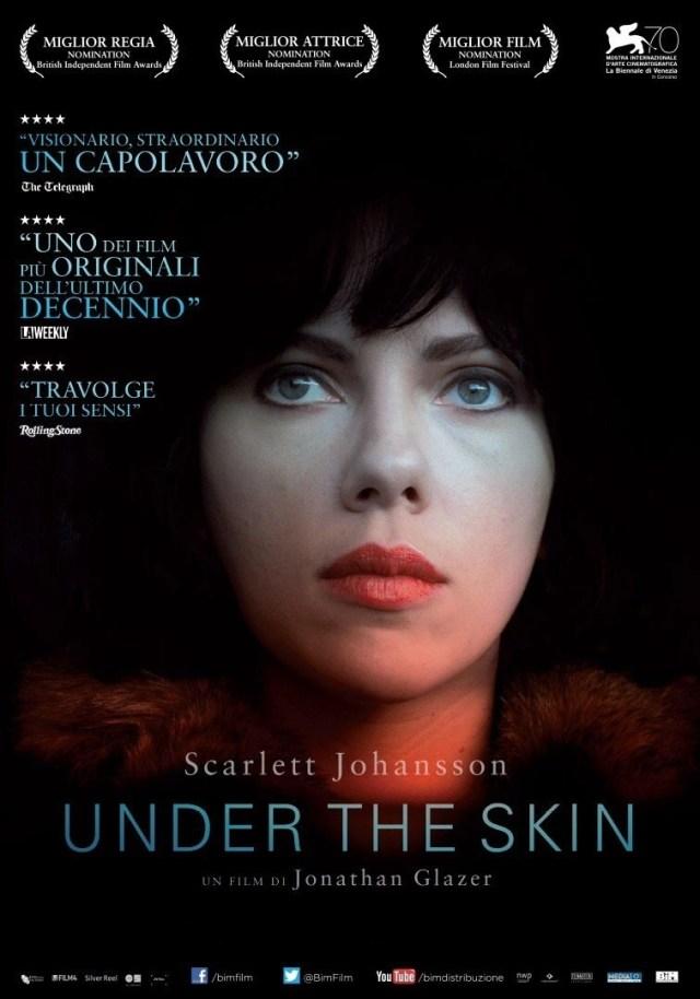under the skin locandina film