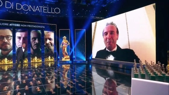 david di donatello 2020. - Benigni