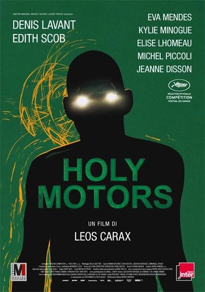 Holy Motors locandina del film