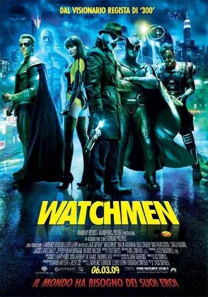 Watchmen locandina