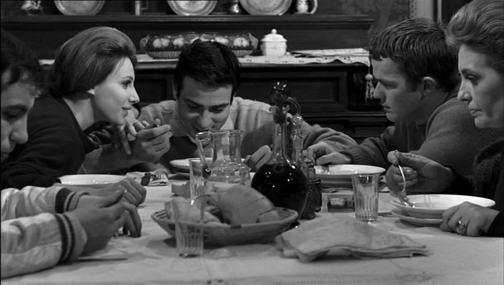 La scena della cena