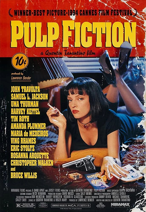Pulp Fiction locandina film
