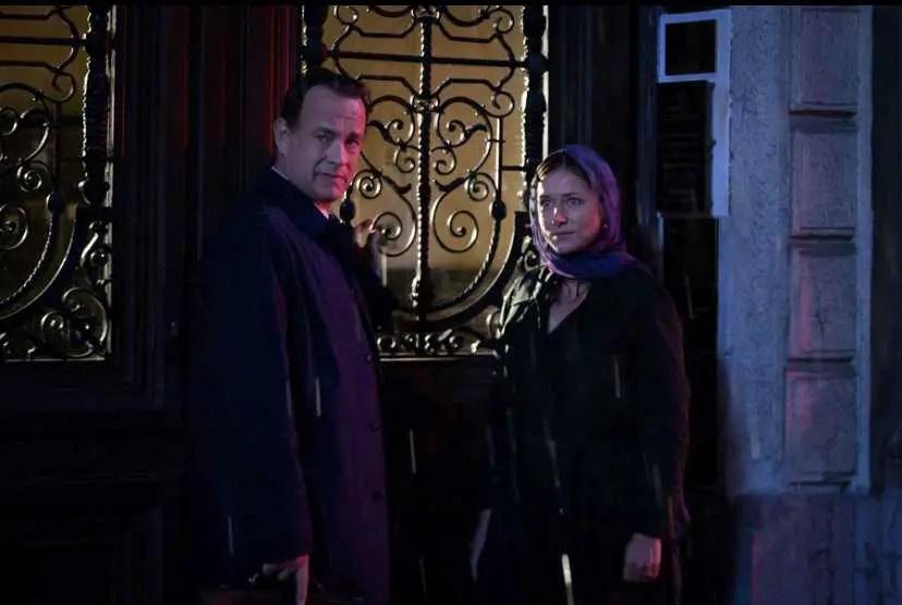 Tom Hanks e Sidse Babett Knudsen in Inferno