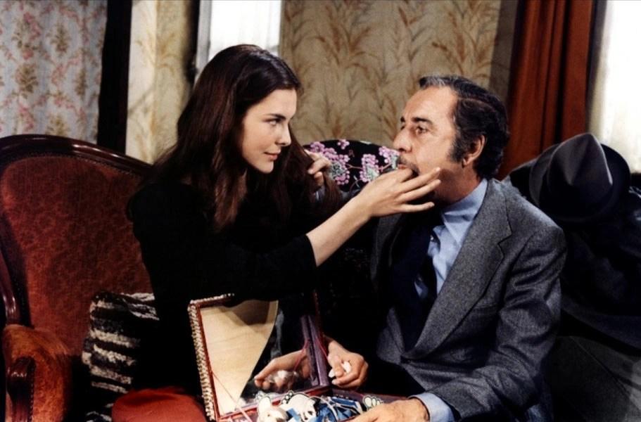 Mathieu e Conchita in una scena del film
