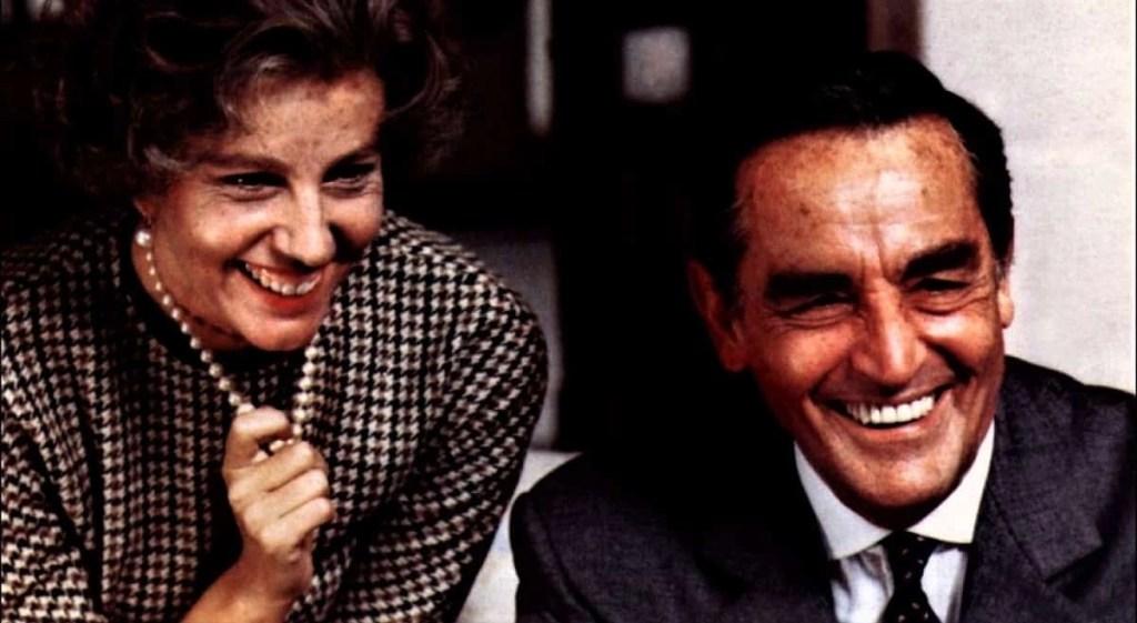 Stefania Sandrelli e Vittorio Gassman