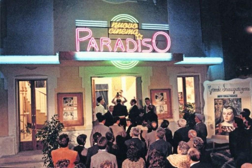 L'inaugurazione del Nuovo Cinema Paradiso