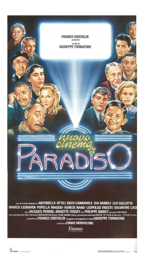 Nuovo Cinema Paradiso Locandina
