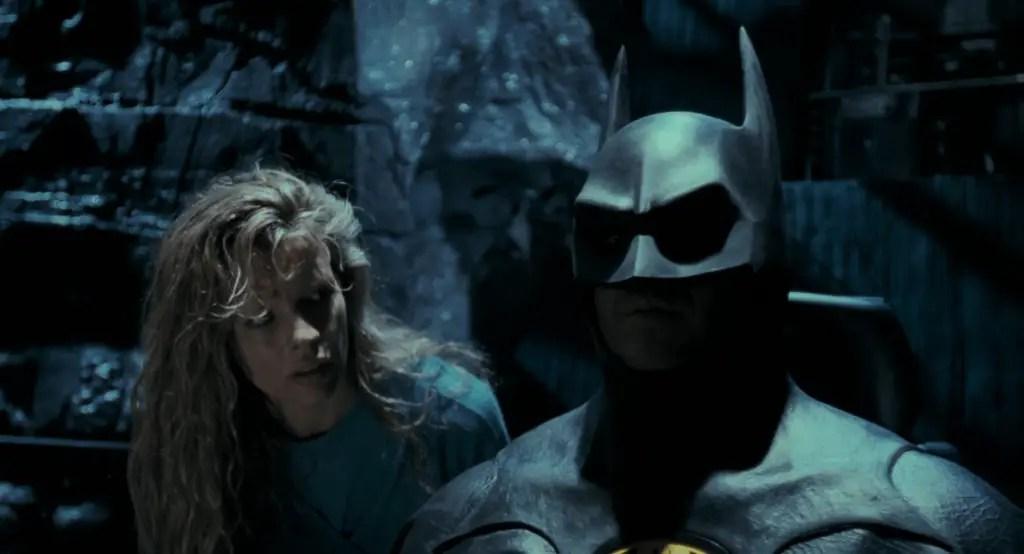 Batman e Vicky Vale in una scena del film - Batman (1989)