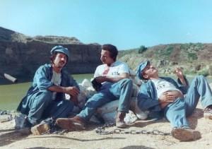 Al (Aldo), John (Giovanni) e Jack (Giacomo) in una scena del film - Così è la vita
