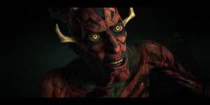 Darth Maul in Clone Wars 4