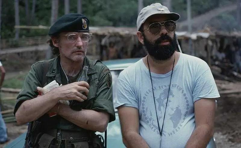 Dennis Hopper e Francis Ford Coppola