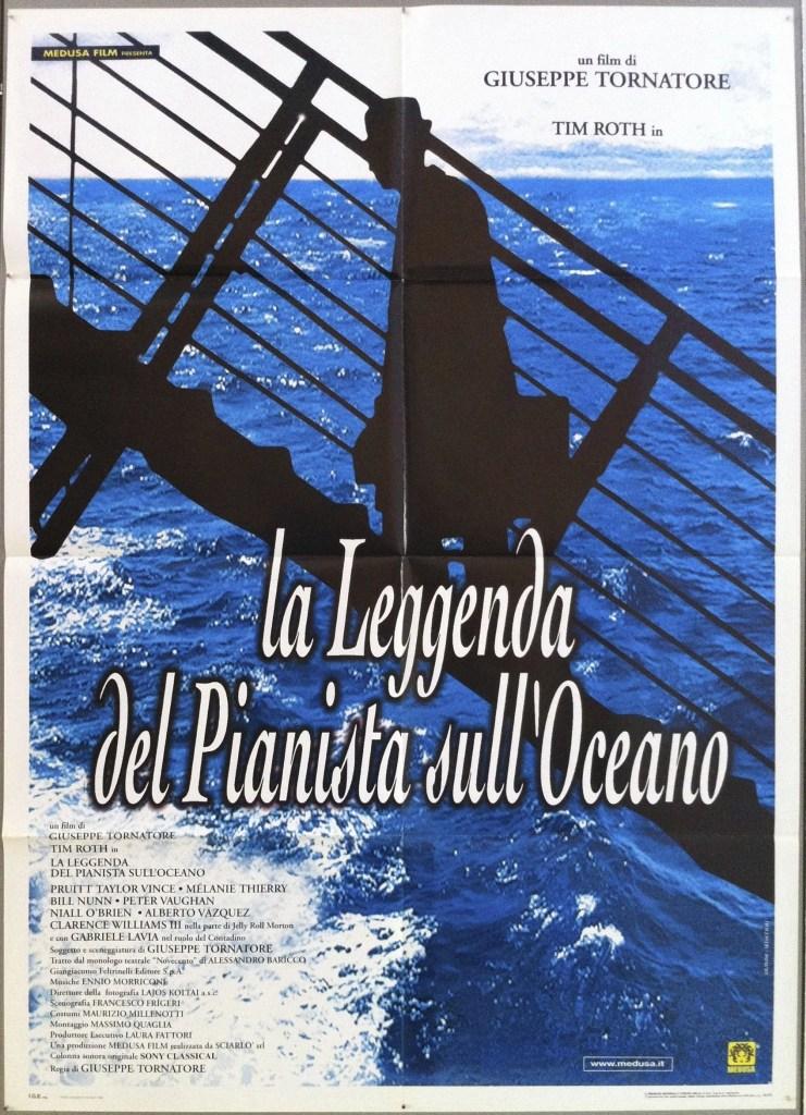 la leggenda del pianista sull'oceano locandina film
