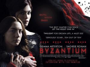 Saoirse Ronan e Gemma Arterton in Byzantium