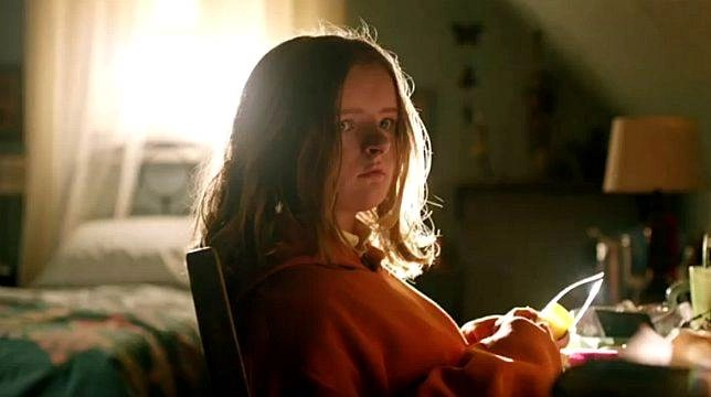 Charlie Graham, figlia di Annie in una scena del film di Ari Aster