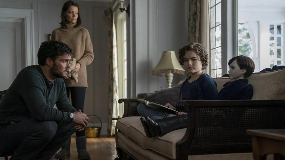 La famiglia protagonista in una scena del film