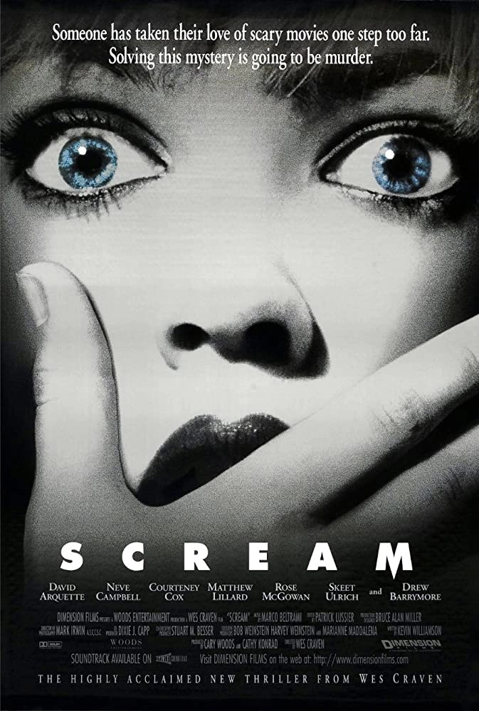 scream locandina