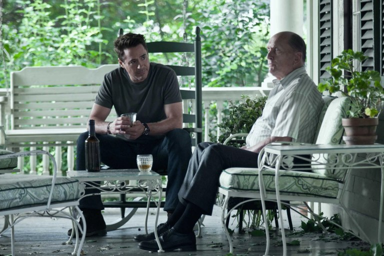 Robert Downey Jr. e Robert Duvall in The Judge (2014)