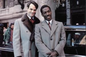 Dan Aykroyd e Eddie Murphy in Una poltrona per due (1983)