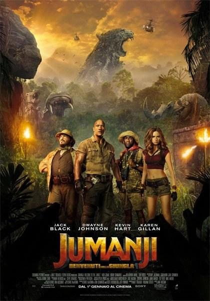 poster Jumanji 2017