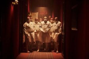 Foto dal set di Cadaver