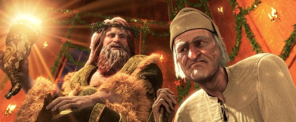 Scrooge e lo Spirito del Natale presente