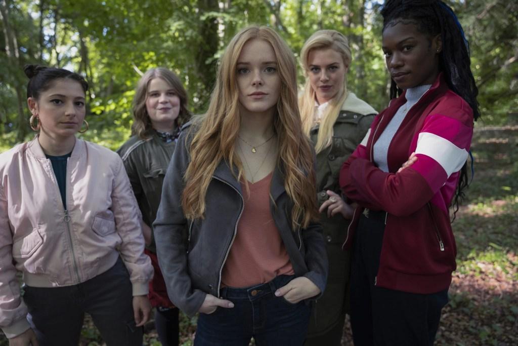 Fate: The Winx Club Saga Season 1 -Elisha Applebaum as Musa, Eliot Salt as Terra, Abigail Cowen as Bloom, Hannah van der Westhuysen as Stella, Precious Mustapha as Aisha