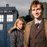 Il Dottore (David Tennant) e Rose (Billie Piper) - Doctor Who
