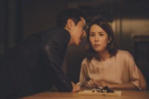 Lee Sun Kyun e Cho Yeo jeong in Parasite