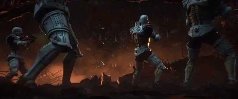 Scena di combattimento - Capitan Harlock