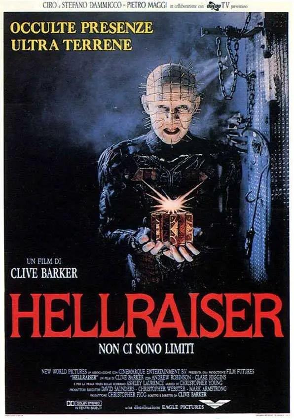 Locandina Hellraiser