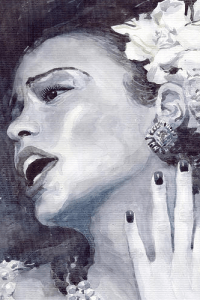 Billie Holiday by Yuriy Shevchuk