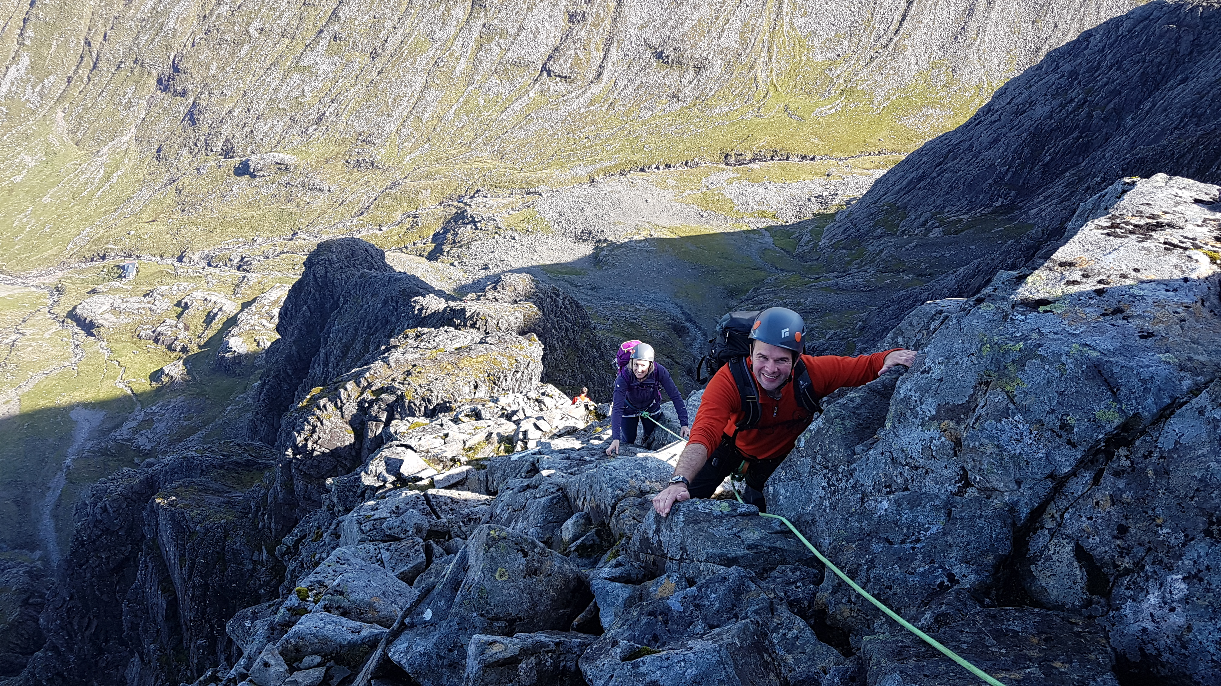 Tower Ridge, Ben Nevis with a Tower Ridge Guide, Lochaber Guides