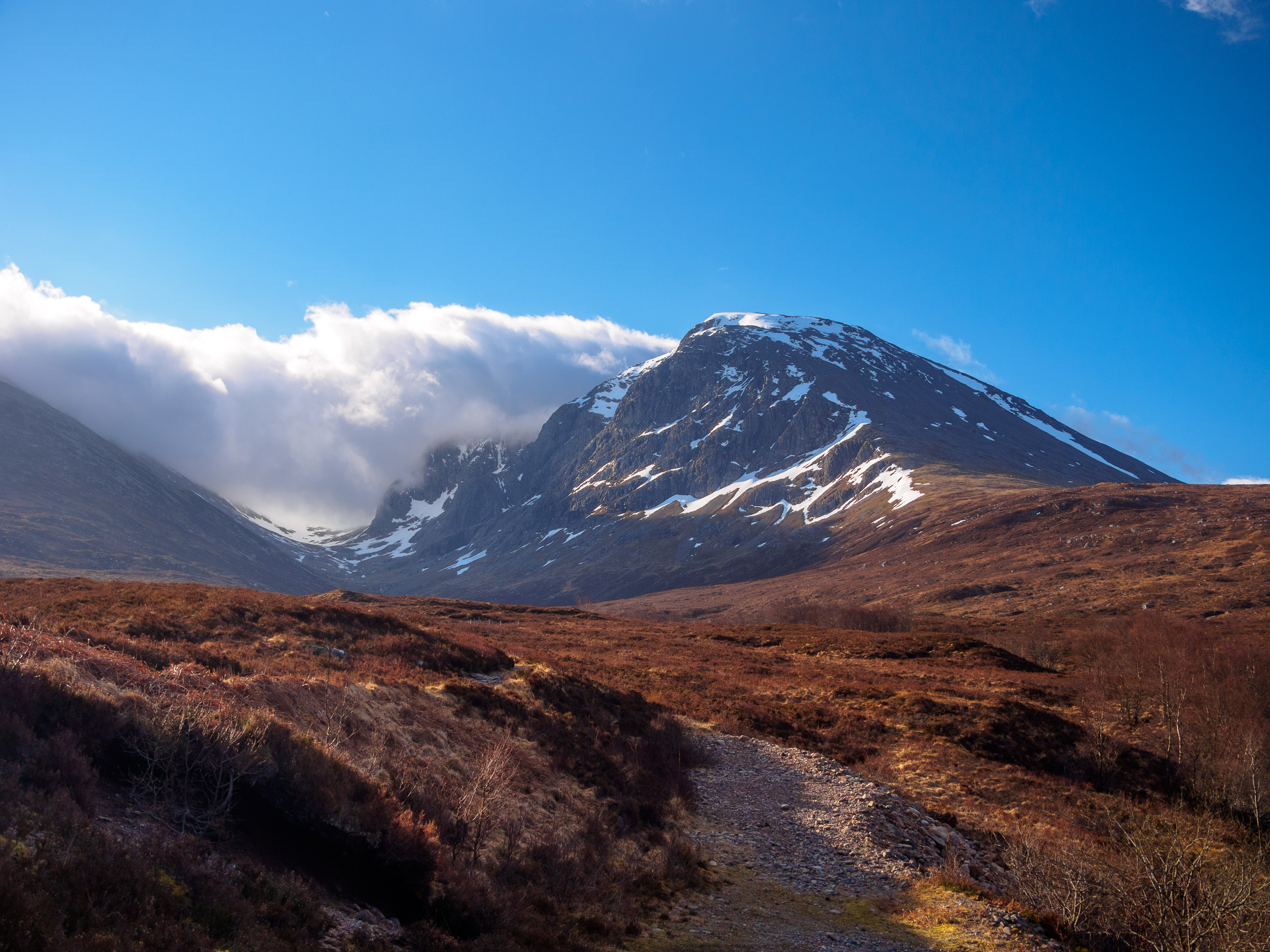 Hire a Carn Mor Dearg Arete Guide from Lochaber Guides. We'll guide you on the CMD Arete and on to Ben Nevis on this amazing route. Ben Nevis Guide