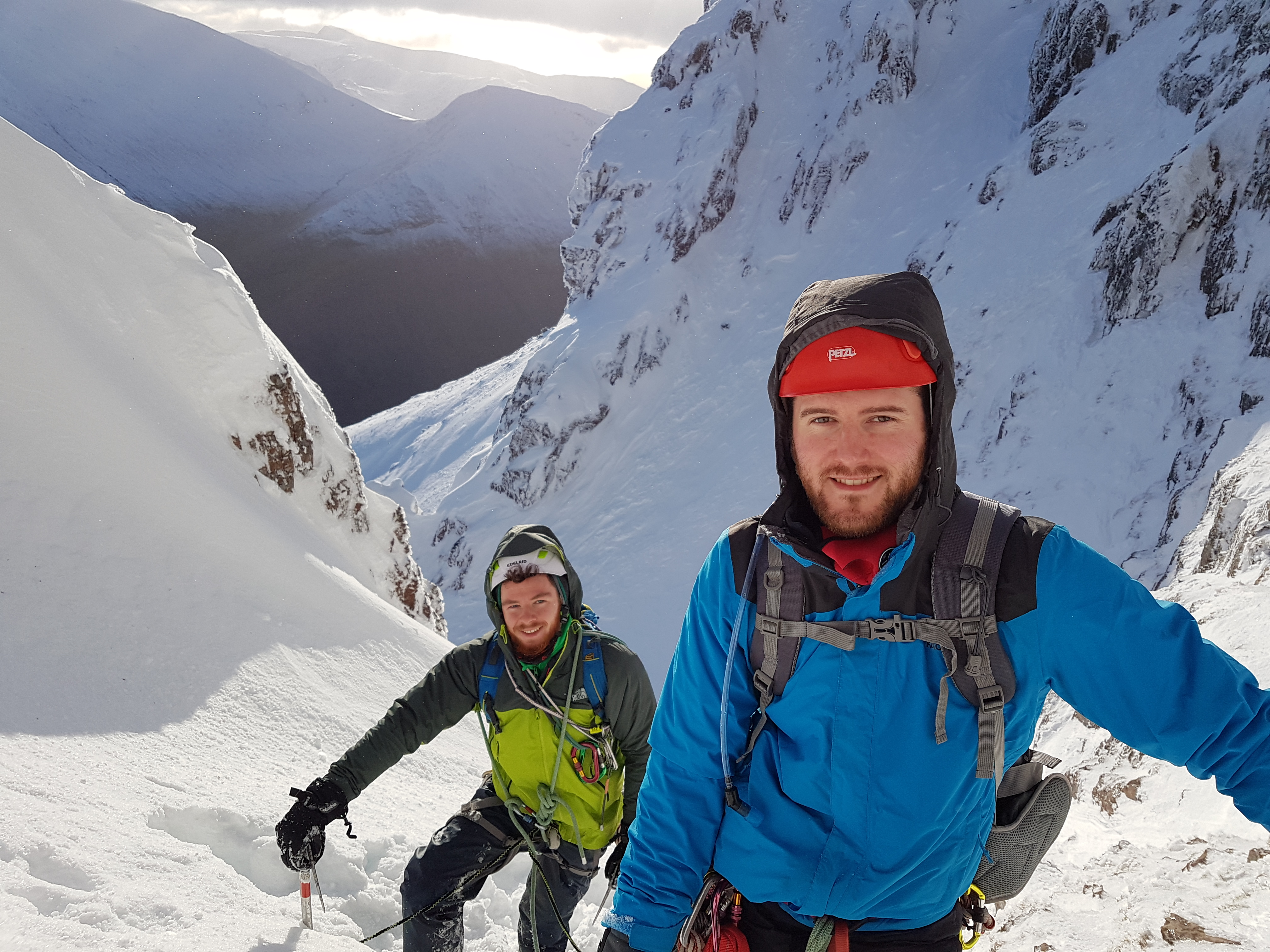 Learn to Winter Climb on Winter Climbing Course in Scotland with Lochaber Guides, Ben Nevis Winter Climbing Guide, Learn Ice Climbing, Scottish Winter Climbing Course