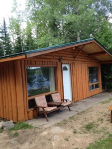 Camp Lochalsh Cabin 3 Outside 2016
