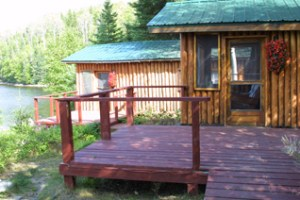 Camp Lochalsh Cabin 4 Deck - Ontario Fishing - Wabatongushi Lake