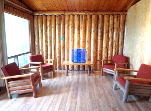 Camp Lochalsh Cabin 3 Living Room