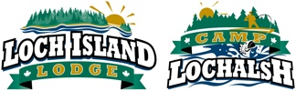 Loch Island Lodge & Camp Lochalsh Logo